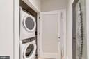 Larger washer/dryer. Dryer vented - 1745 N ST NW #208, WASHINGTON