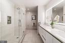 Spacious master bathroom - 1745 N ST NW #208, WASHINGTON