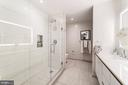 Master bathroom - 1745 N ST NW #208, WASHINGTON