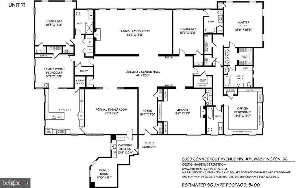 Floor plan - 2029 CONNECTICUT AVE NW #71, WASHINGTON