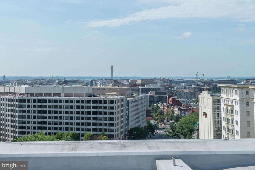 View of Washington Monument from roof - 2029 CONNECTICUT AVE NW #71, WASHINGTON