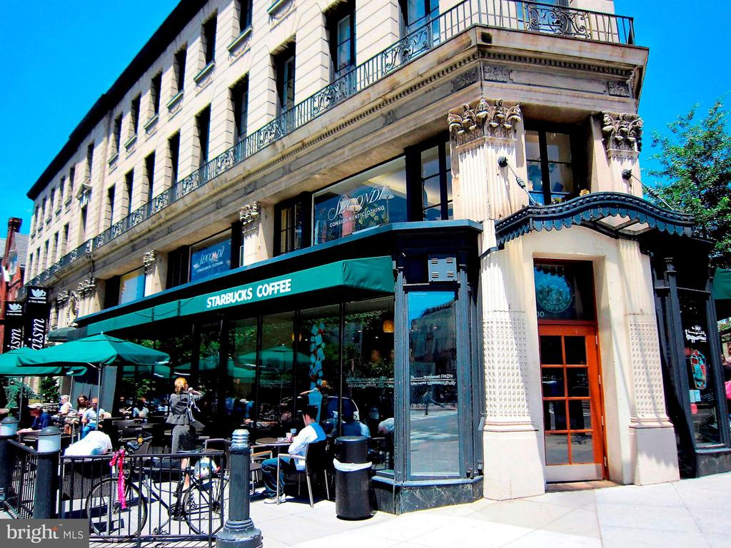 Starbucks, nearby - 2029 CONNECTICUT AVE NW #71, WASHINGTON