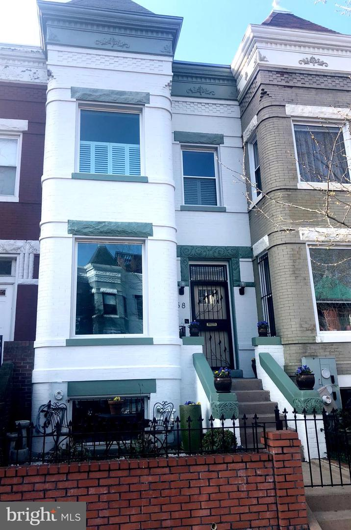 Single Family for Sale at 58 S St NW 58 S St NW Washington, District Of Columbia 20001 United States
