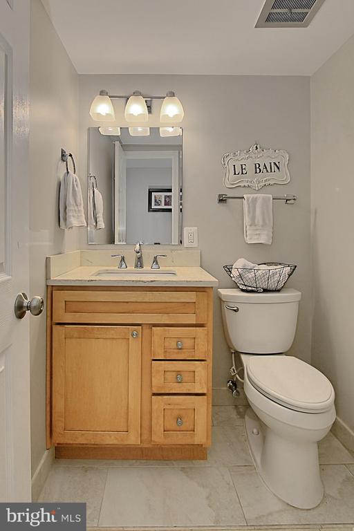 Lower Level Half Bath - 6714 NORVIEW CT, SPRINGFIELD