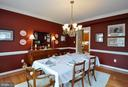 Formal dining room - 26 PINKERTON CT, STAFFORD