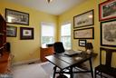 Main level study w/built in shelving (not shown) - 26 PINKERTON CT, STAFFORD