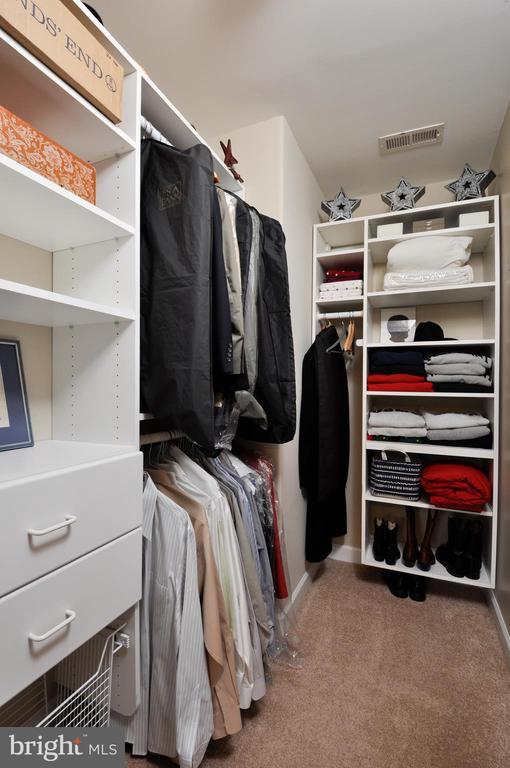 Walk in closet in~bedroom 2 ~w/built ins - 26 PINKERTON CT, STAFFORD