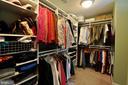 Master walk in closet w/built ins - 26 PINKERTON CT, STAFFORD