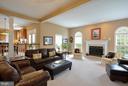 HUGE Family room - 26 PINKERTON CT, STAFFORD