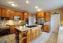 Desk area in the kitchen, walk in pantry (door) - 26 PINKERTON CT, STAFFORD