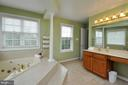 Separate sinks in master bath - 26 PINKERTON CT, STAFFORD