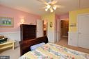 Bedroom w/Jack & Jill bath - 26 PINKERTON CT, STAFFORD
