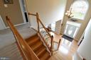 View of open foyer - 26 PINKERTON CT, STAFFORD