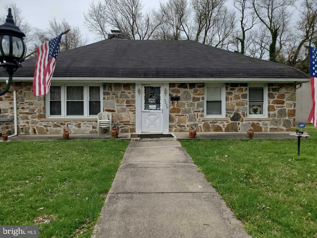 Single Family for Sale at 3229 Miller Ave 3229 Miller Ave Baltimore, Maryland 21220 United States
