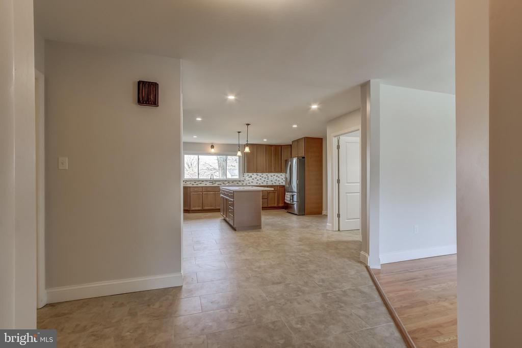 What an entry. Facing magnificence. - 7007 PARTRIDGE PL, HYATTSVILLE