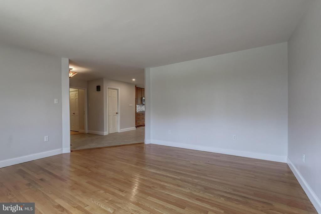 View from back of dining room. - 7007 PARTRIDGE PL, HYATTSVILLE