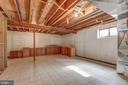 Some natural light comes in to lower level. - 7007 PARTRIDGE PL, HYATTSVILLE