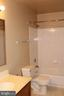 Upstairs full bath - 13 HARRY CT, STAFFORD