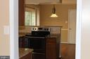 Kitchen view - 13 HARRY CT, STAFFORD