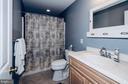 Lower Level full bath with Shower/Tub - 14974 MERRITT FARM LN, LEESBURG
