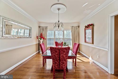 Dining Room - 11303 MARLBORO RIDGE RD, UPPER MARLBORO