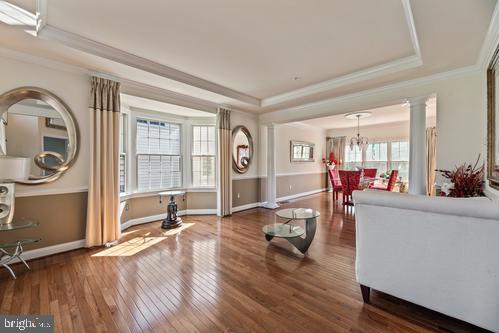 Living room - 11303 MARLBORO RIDGE RD, UPPER MARLBORO