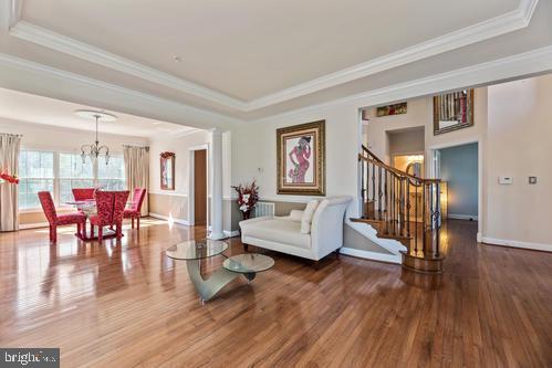 Living room and Dining Room - 11303 MARLBORO RIDGE RD, UPPER MARLBORO