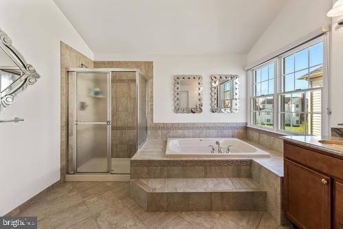 Master Bath - 11303 MARLBORO RIDGE RD, UPPER MARLBORO
