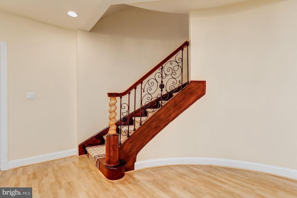 Lower Level Open Stari - 11536 MANORSTONE LN, COLUMBIA