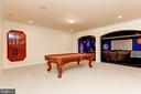 Billiard Room & Adjacent Media Room - 11536 MANORSTONE LN, COLUMBIA