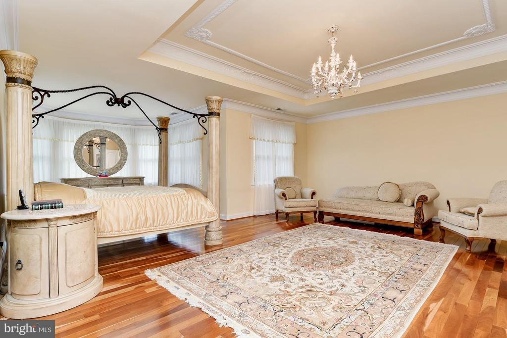 Master Suite & Sitting Area - 11536 MANORSTONE LN, COLUMBIA