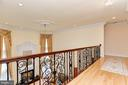 Upper Level Overlook to Family room - 11536 MANORSTONE LN, COLUMBIA