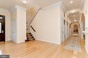 Back Stair - 11536 MANORSTONE LN, COLUMBIA