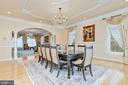 Formal Dining Room - 11536 MANORSTONE LN, COLUMBIA