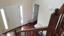 view from stairs - 30 BISMARK DR, STAFFORD