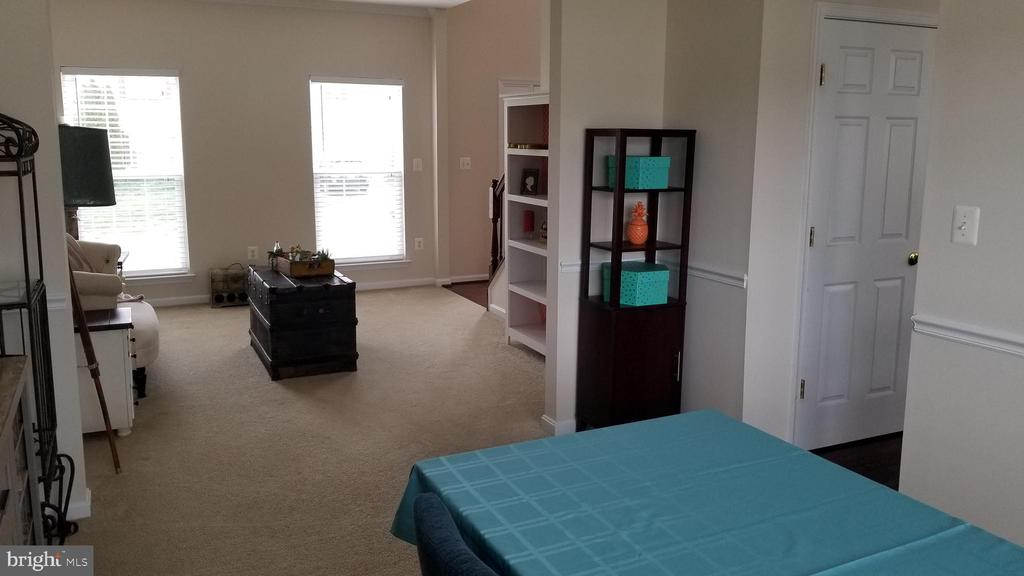 view of dining room to sitting room - 30 BISMARK DR, STAFFORD