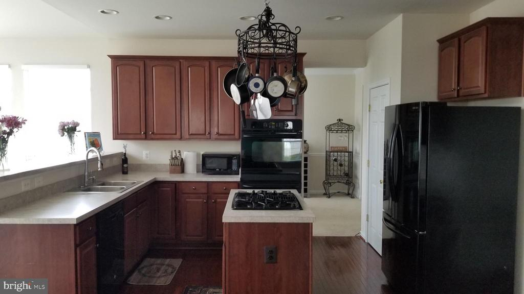 view of kitchen with cooking island - 30 BISMARK DR, STAFFORD