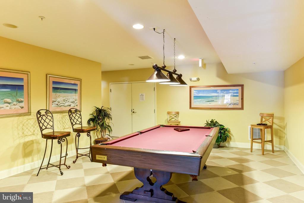 Clubhouse Billiard Room - 8709 WARM WAVES WAY #3, COLUMBIA