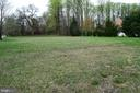 Back yard of both lots - 1340 GORDON LN, MCLEAN
