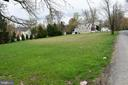 Rear of property, with main street in front of lot - 1340 GORDON LN, MCLEAN
