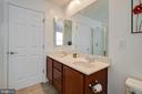 Master bath with dual vanities - 7127 AZALEA DR, RUTHER GLEN