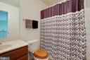 Hall bath - 7127 AZALEA DR, RUTHER GLEN