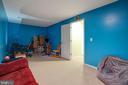 Large, second basement rec room - 7127 AZALEA DR, RUTHER GLEN