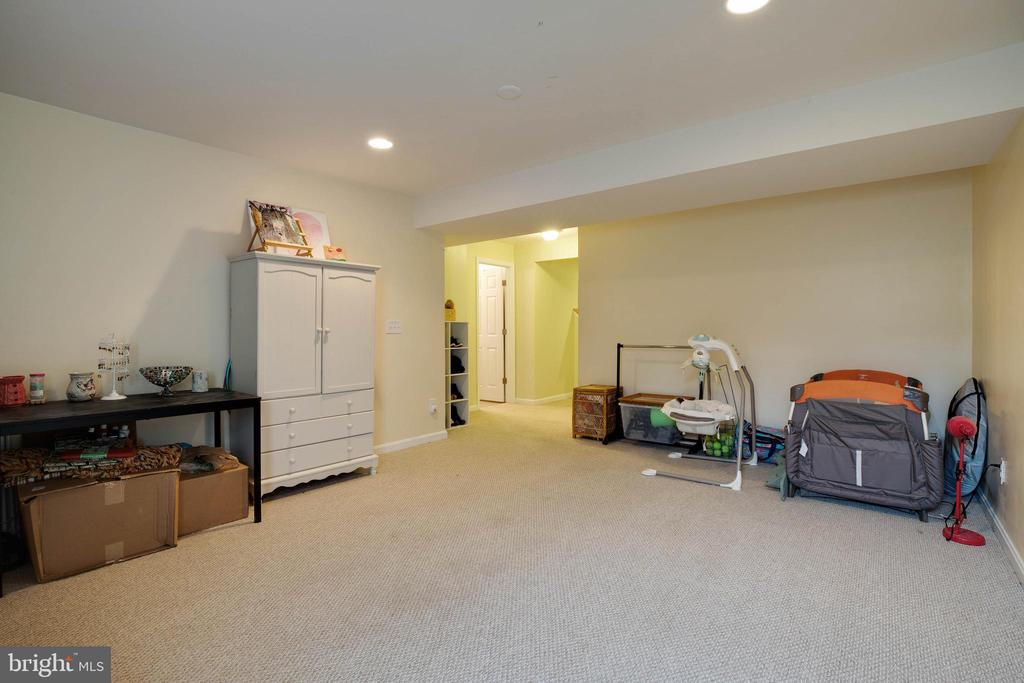Fully finished basement for all your needs! - 7127 AZALEA DR, RUTHER GLEN