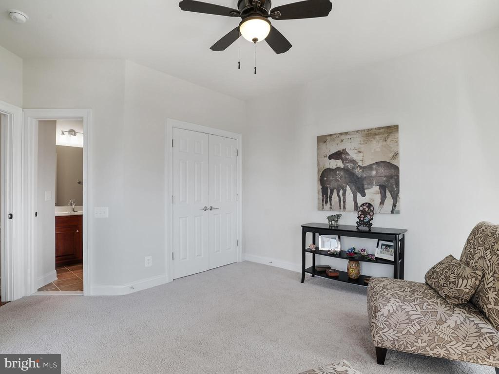 Main floor Bedroom w/ full Bath - 42612 WILLOW BEND DR, BRAMBLETON