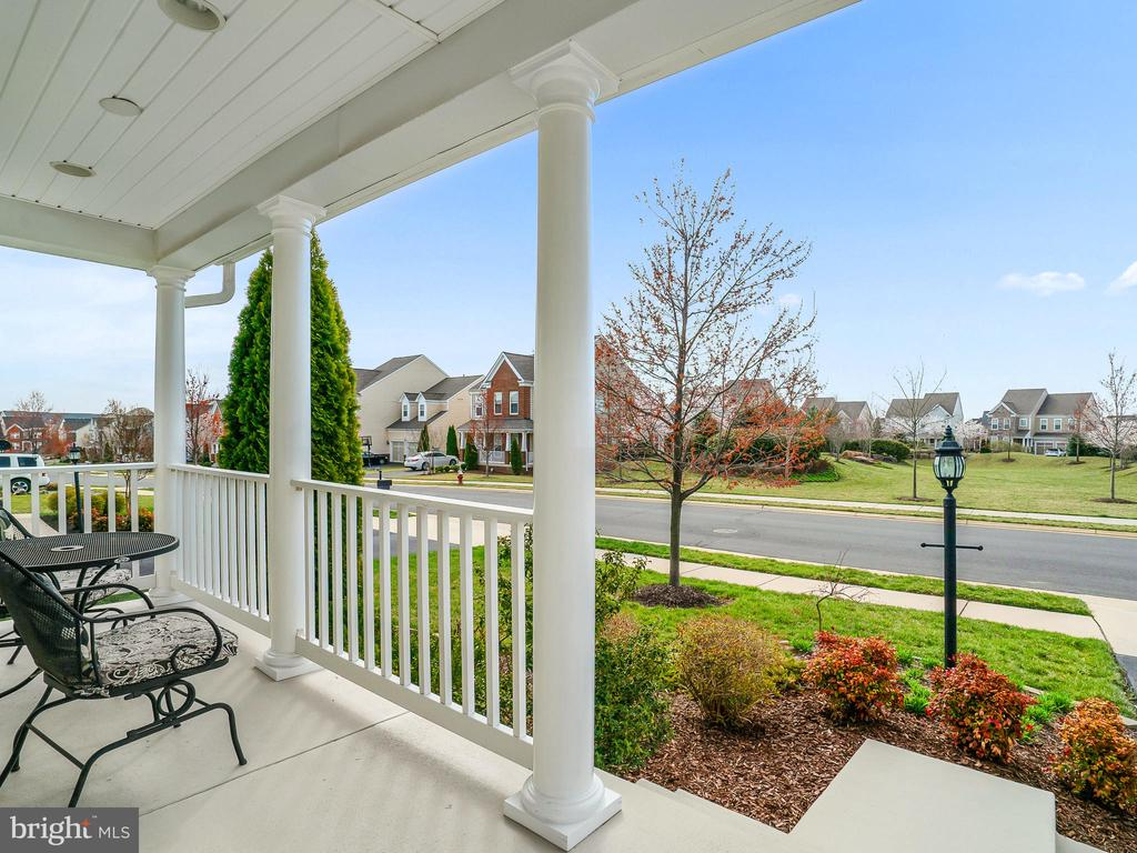 Enjoy the view from your front porch - 42612 WILLOW BEND DR, BRAMBLETON