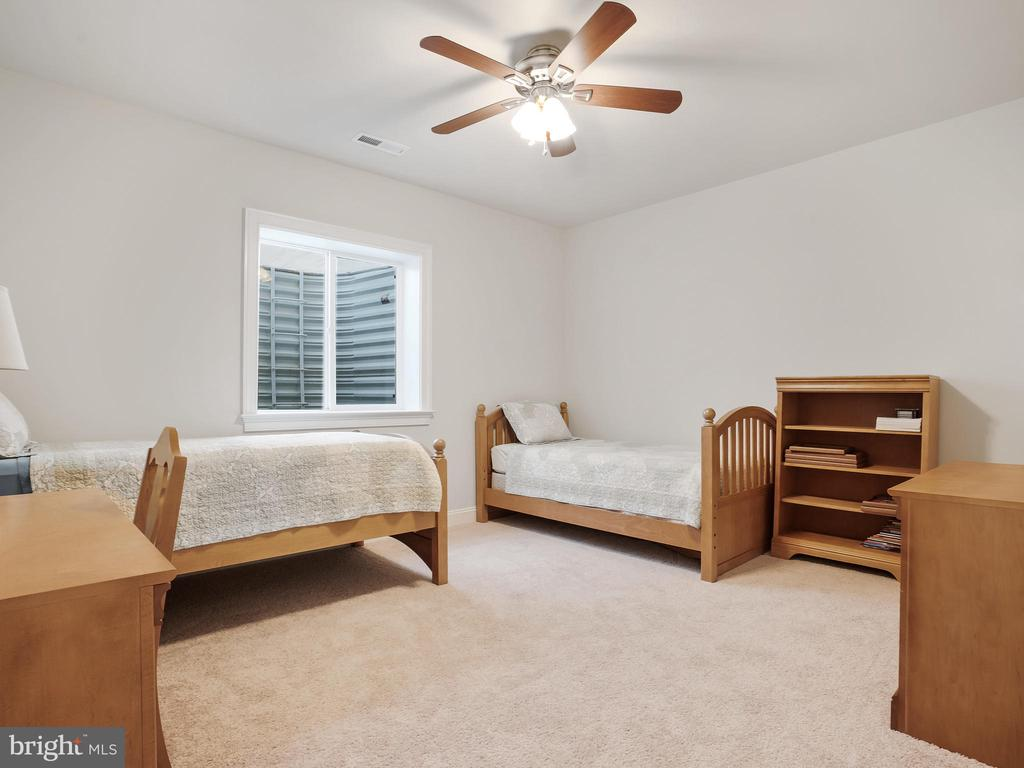 Lower Level Bedroom #6 w/ on suite - 42612 WILLOW BEND DR, BRAMBLETON