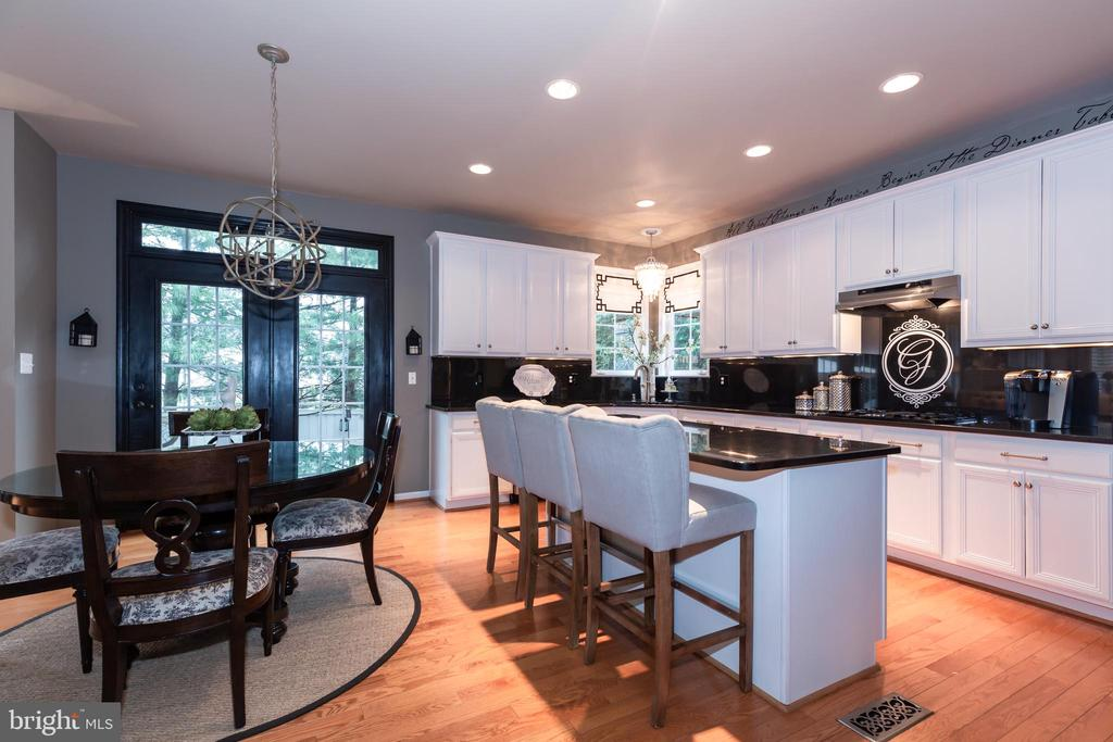 Granite, hardwood, updated appliances - 21528 INMAN PARK PL, ASHBURN