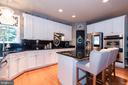 The refrigerator- Samsung Family Hub- WOW - 21528 INMAN PARK PL, ASHBURN
