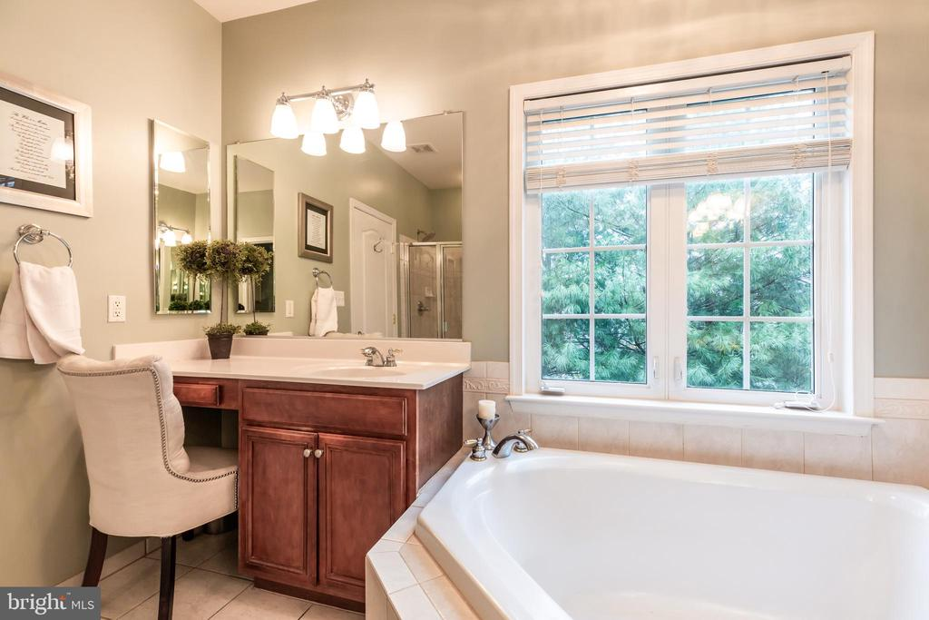 Make-up area w natural light: ideal for her - 21528 INMAN PARK PL, ASHBURN
